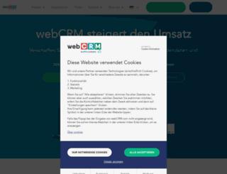 webcrm.de screenshot
