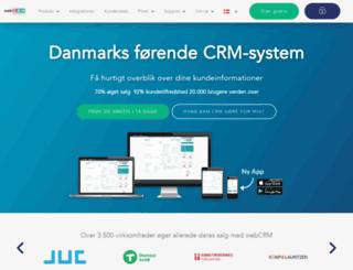 webcrm.dk screenshot