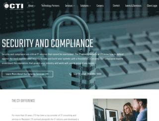 webcti.com screenshot