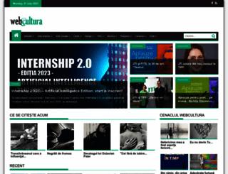 webcultura.ro screenshot