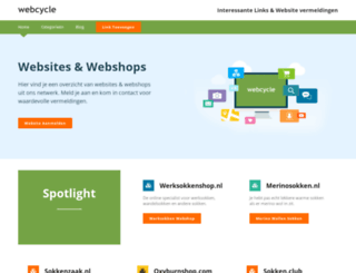 webcycle.nl screenshot