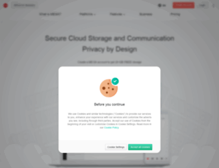 webdav.mega.co.nz screenshot