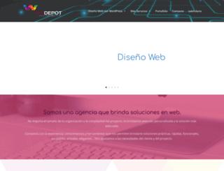 webdepot.com.mx screenshot
