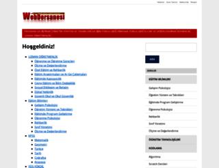 webdersanesi.com screenshot