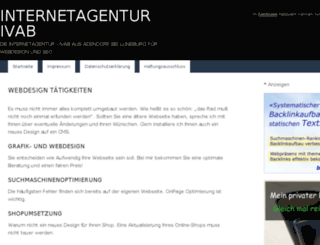 webdesign-adendorf.de screenshot