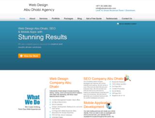 webdesignabudhabiagency.com screenshot