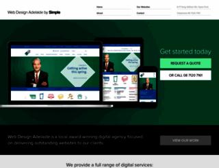 webdesignadelaide.com.au screenshot