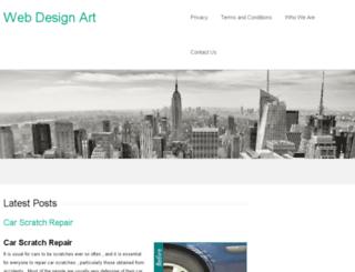 webdesignart.co.uk screenshot