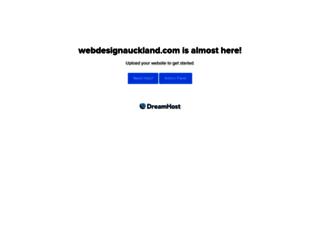 webdesignauckland.com screenshot