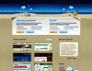 webdesignbeach.com screenshot