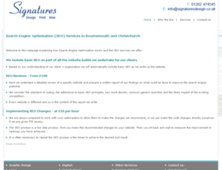 webdesignbournemouth.com screenshot