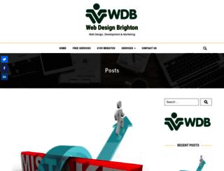 webdesignbrighton.org screenshot