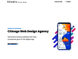 webdesigncompanyinchicago.com screenshot