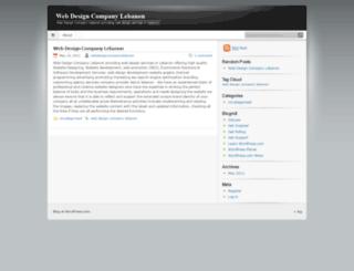 webdesigncompanylebanon.wordpress.com screenshot