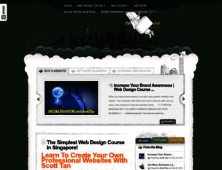 webdesigncoursesingapore.com screenshot