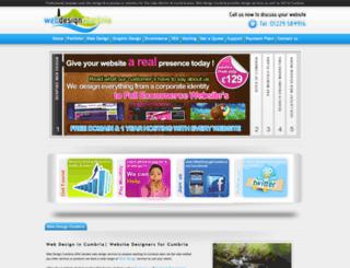 webdesigncumbria.com screenshot