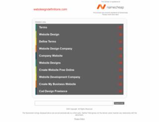 webdesigndefinitions.com screenshot