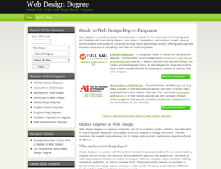webdesigndegree.com screenshot