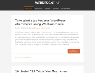 webdesigndive.com screenshot