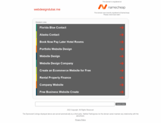 webdesigndubai.me screenshot
