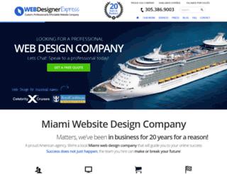 webdesignerexpress.com screenshot