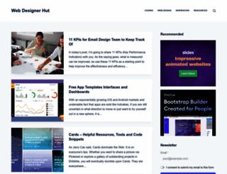webdesignerhut.com screenshot