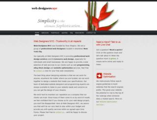 webdesignersnyc.com screenshot