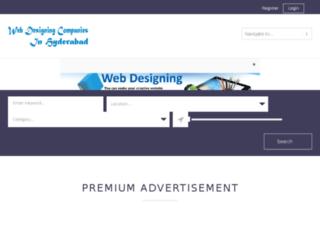 webdesigningcompaniesinhyderabad.in screenshot
