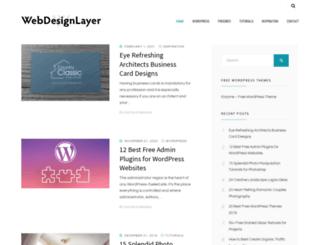 webdesignlayer.com screenshot