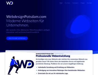 webdesignpotsdam.com screenshot