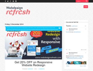 webdesignrefresh.blogspot.in screenshot