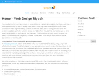 webdesignriyadh.co screenshot