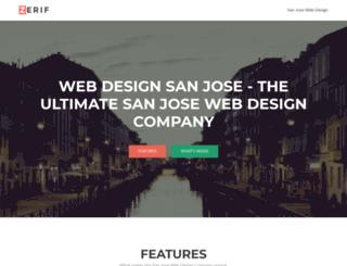 webdesignsanjose.net screenshot