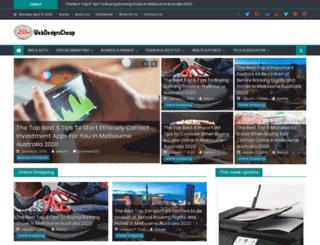 webdesignscheap.com.au screenshot