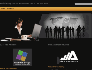 webdesignservicereviews.com screenshot