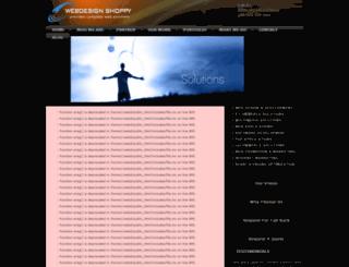 webdesignshoppy.com screenshot