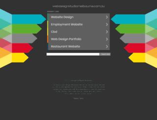 webdesignstudiomelbourne.com.au screenshot