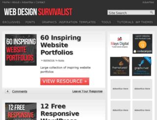 webdesignsurvivalist.com screenshot