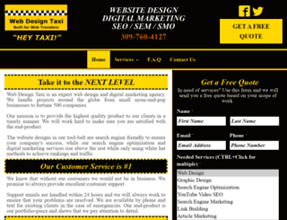 webdesigntaxi.com screenshot