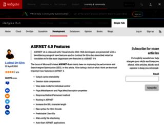 webdev.simple-talk.com screenshot