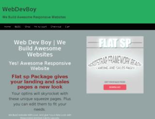 webdevboy.com screenshot