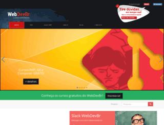 webdevbr.com.br screenshot