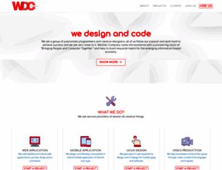 webdevco.in screenshot