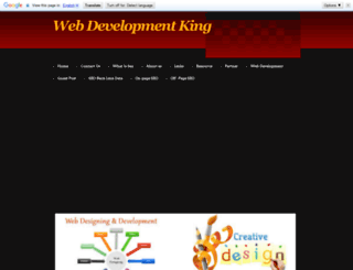webdevelopmentking.yolasite.com screenshot