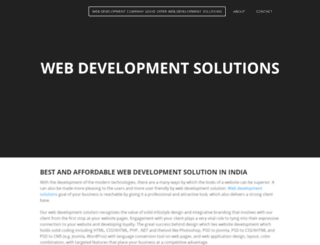 webdevlopmentsolutions.weebly.com screenshot