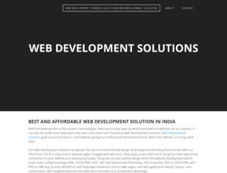 webdevlopmentsolutions.weebly.com screenshot