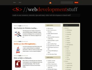 webdevstuff.com screenshot