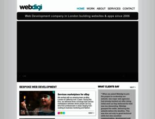 webdigi.co.uk screenshot