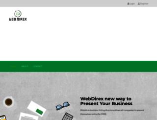 webdirex.com screenshot