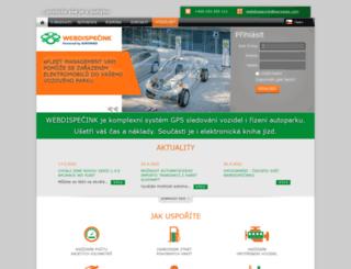 webdispecink.cz screenshot